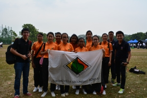 Campcraft Girl's team on 8 February 2014