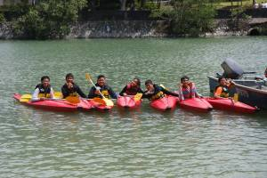 Paddling as a group