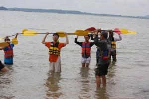 Paddle handling